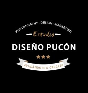 Logo diseño pucon negro 300